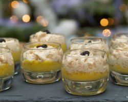 Espuma de foie gras / soupe de mangue