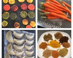 Raviole de caviar d'aubergines, poivrons grillés, carottes et épices tandoori