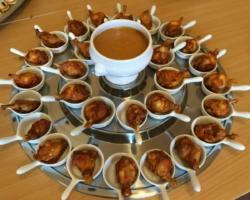 Cuissot de volaille sauce satay