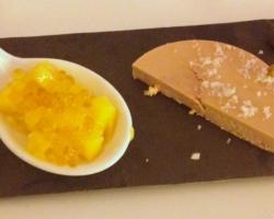 Foie gras & fleur de sel/ mangue