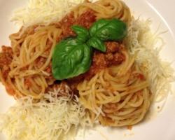 Spaghetti Bolo