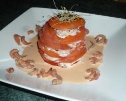 Tomate crevette revisitée