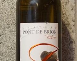 Graves blanc, Chateau Pont de Brion 2014. 2/3 sémillon, 1/3 sauvignon
