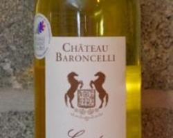 AOP Muscat de Beaumes de Venise. 100% Muscat à petits grains du domaine Baroncelli.