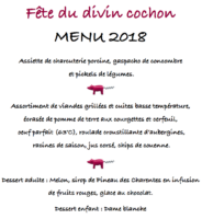 20180810 menu divin cochon 2018